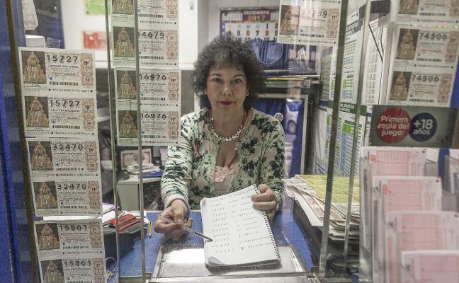 El sorteo navideño no deja ningún premio relevante en Cáceres