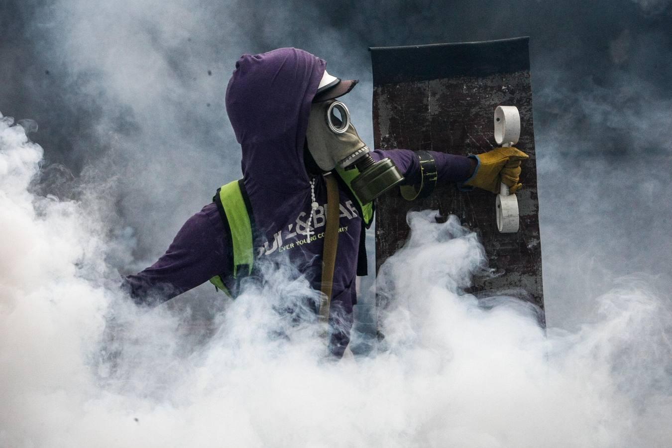 Confirman la muerte de un joven durante la protesta opositora en Caracas