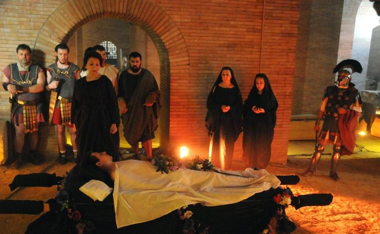Emerita Lvdica celebra su tradicional funus romano
