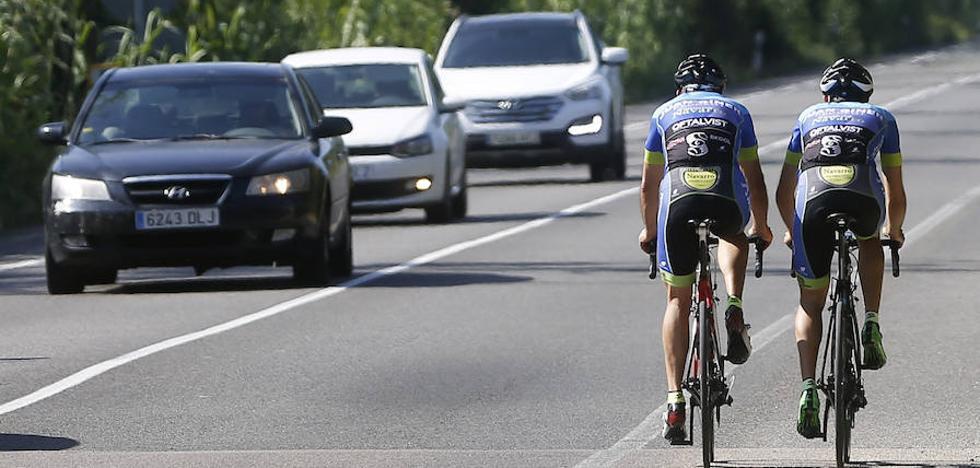 Ciclistas, alto riesgo