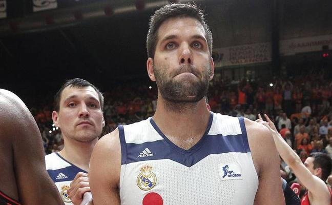 Felipe Reyes, madridista hasta los 39 años