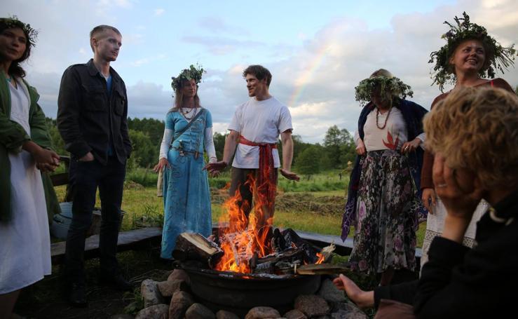 La fiesta pagana Kupalle