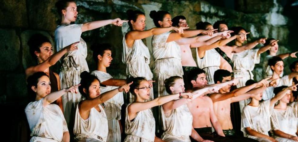 Veinte jóvenes participarán en el campo de trabajo del Festival de Teatro de Mérida