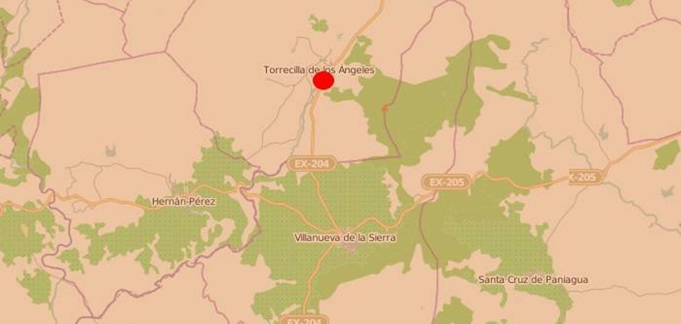 Herido grave en un accidente en Torrecilla de Los Ángeles