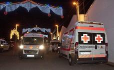 Cruz Roja realiza 85 intervenciones durante el primer fin de semana de feria