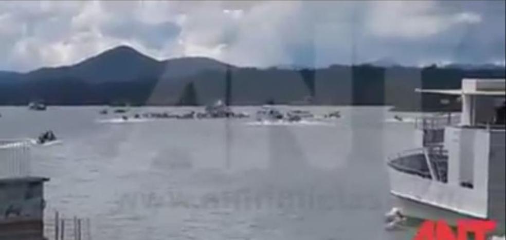 Al menos nueve muertos y 30 desaparecidos en un naufragio en Colombia
