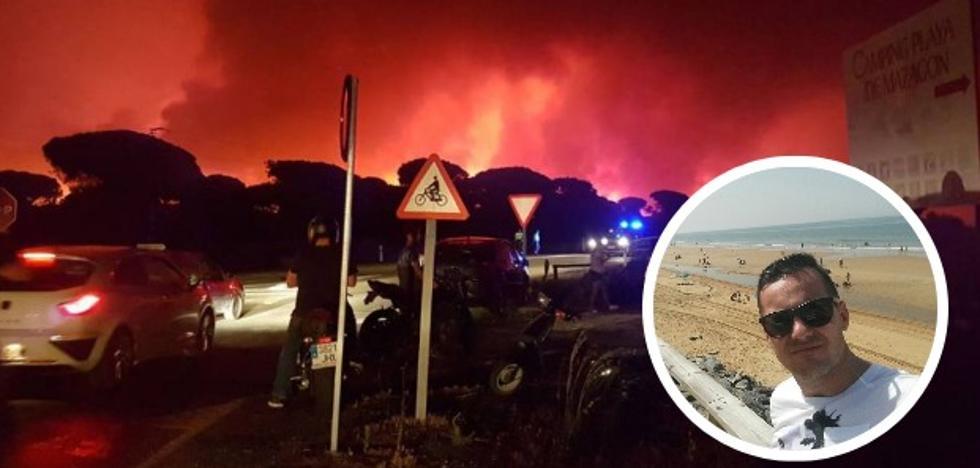 Extremeños en Matalascañas: «Vivimos escenas de pánico que tardaremos en olvidar»