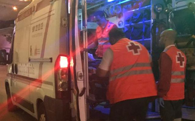 Un hombre de 35 años, herido en una reyerta esta madrugada en el recinto ferial