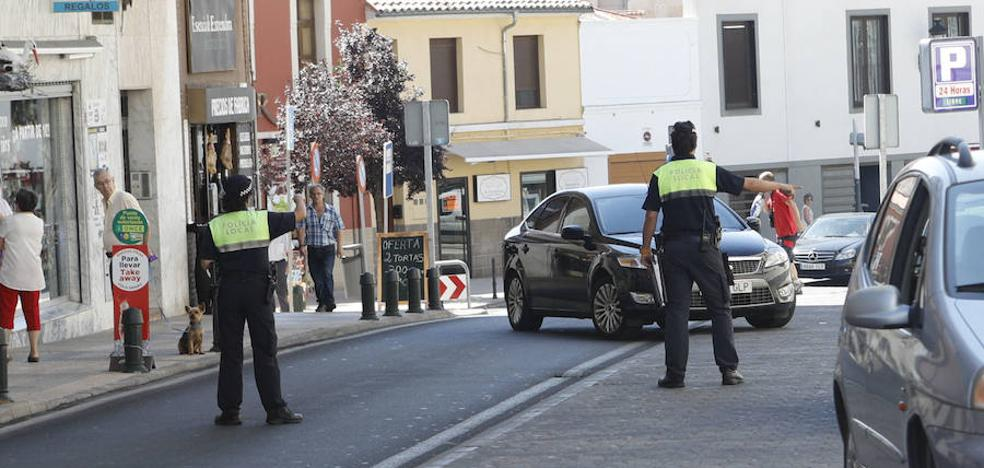 Multas en un control policial en Obispo Galarza en Cáceres por no haber pasado la ITV