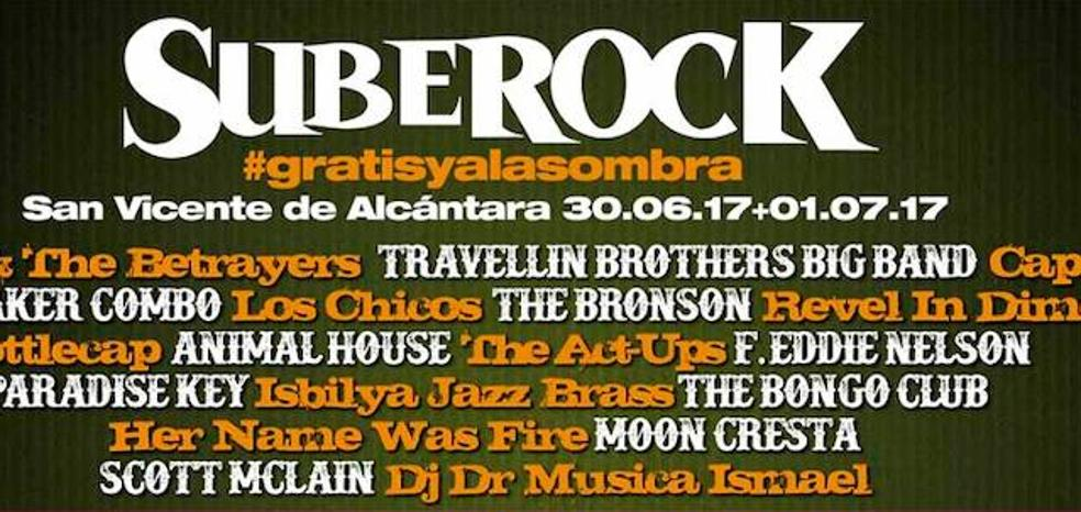 San Vicente de Alcántara acoge desde mañana el décimo Festival SubeRock