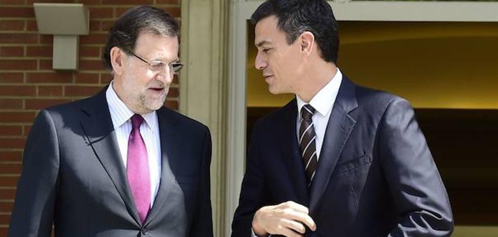 Rajoy se reunirá con Pedro Sánchez el jueves