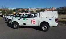 El Infoex suma seis vehículos de apoyo a la extinción de incendios