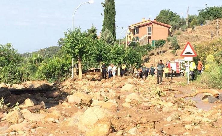 Así ha quedado Valverde de la Vera tras la inundación