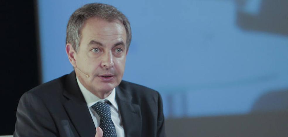 Zapatero: «Los referéndum secesionistas solo consiguen dividir a la ciudadanía»