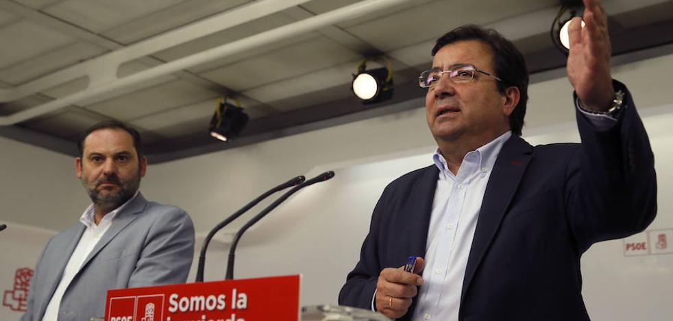 Vara cancela su campaña de primarias por el suceso del Valle del Jerte