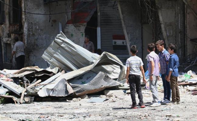 Entra en vigor el alto el fuego en Siria pactado por Trump y Putin