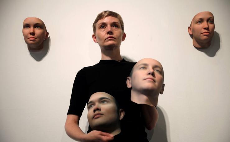 Las máscaras impresas en 3D a partir del ADN