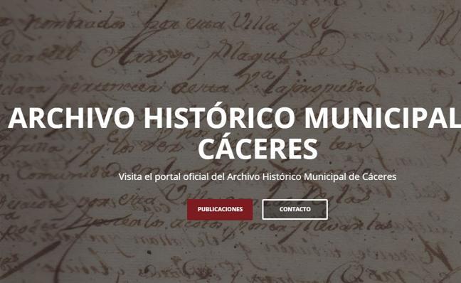 Cáceres digitaliza su archivo histórico