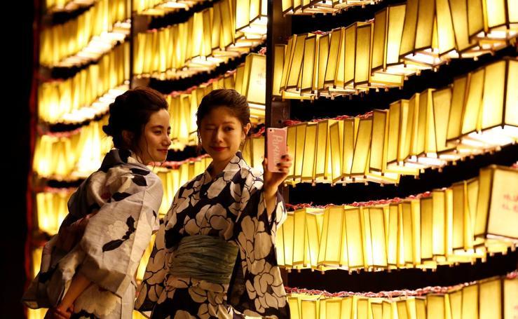 Festival anual de Mitama en el Santuario de Yasukuni