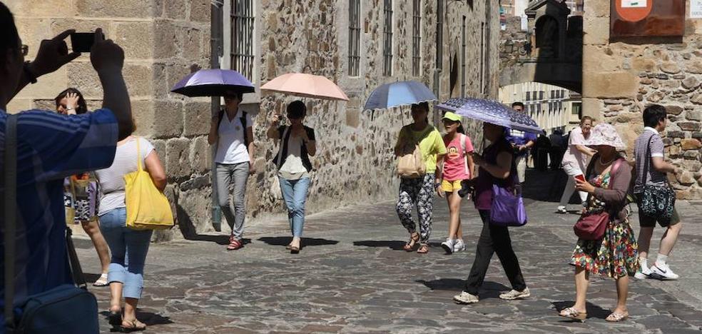 Seis localidades extremeñas batieron ayer su récord de temperatura