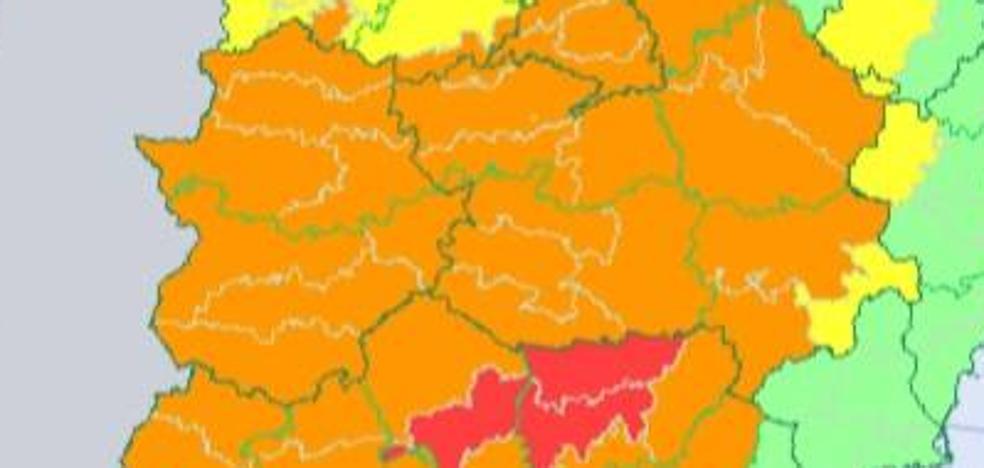 Extremadura estará hoy en alerta naranja por altas temperaturas