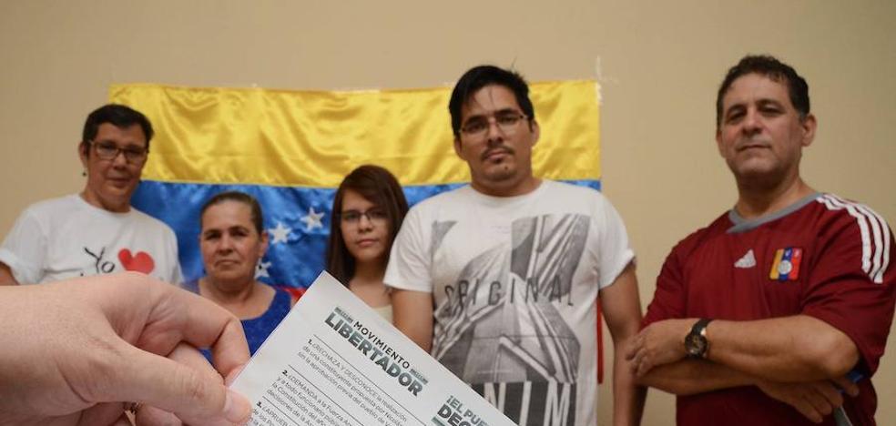 Los venezolanos votarán en Badajoz la consulta sobre la Constituyente de Maduro