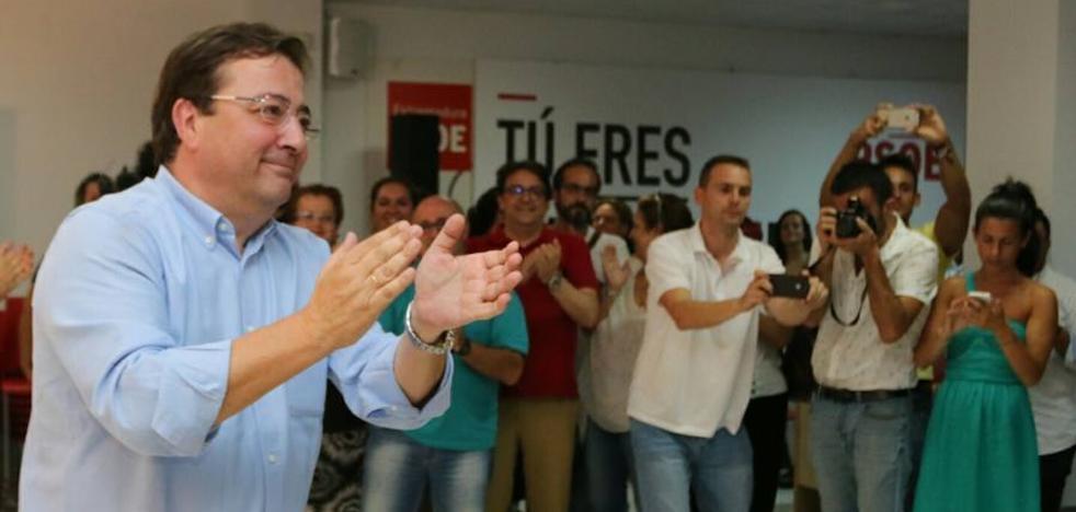 Vara gana las primarias y seguirá al frente del PSOE de Extremadura