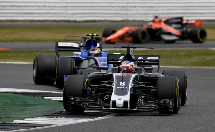 Las mejores imágenes del Gran Premio de Silverstone