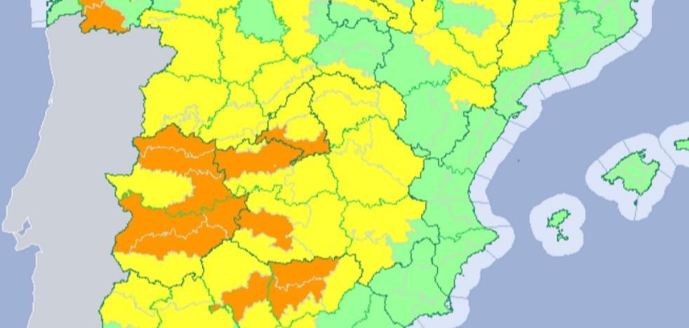 La ola de calor se despide este domingo de Extremadura con avisos naranjas