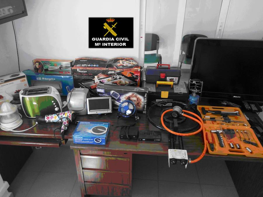 La Guardia Civil detiene al presunto autor de un robo en Jaraicejo