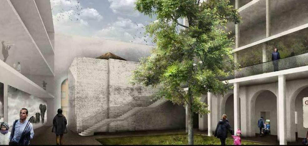 La Diputación de Badajoz envía al Ayuntamiento el estudio de rehabilitación del Hospital Provincial