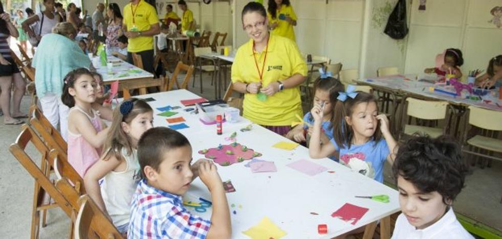Comienzan las actividades y talleres en el parque de Castelar
