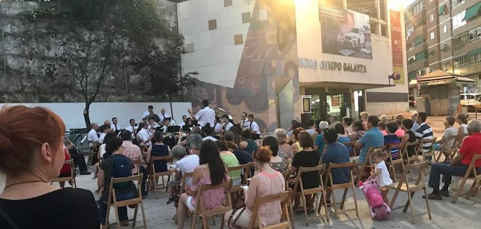 Concierto de la Banda Municpal en Obispo Galarza