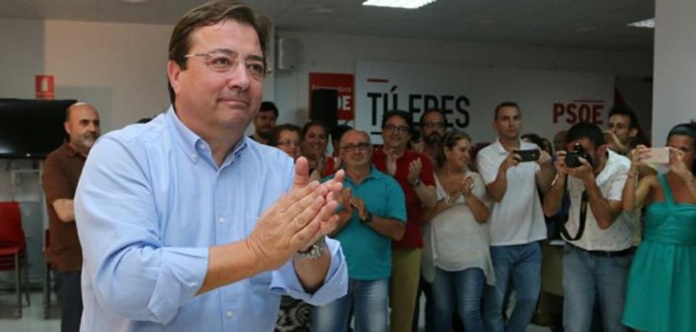 Fernández Vara, proclamado secretario general del PSOE de Extremadura