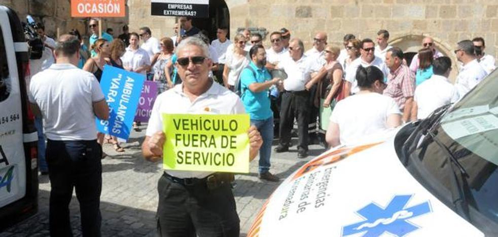 Vergeles no entiende que la protesta de las ambulancias fuera convocada por la empresa