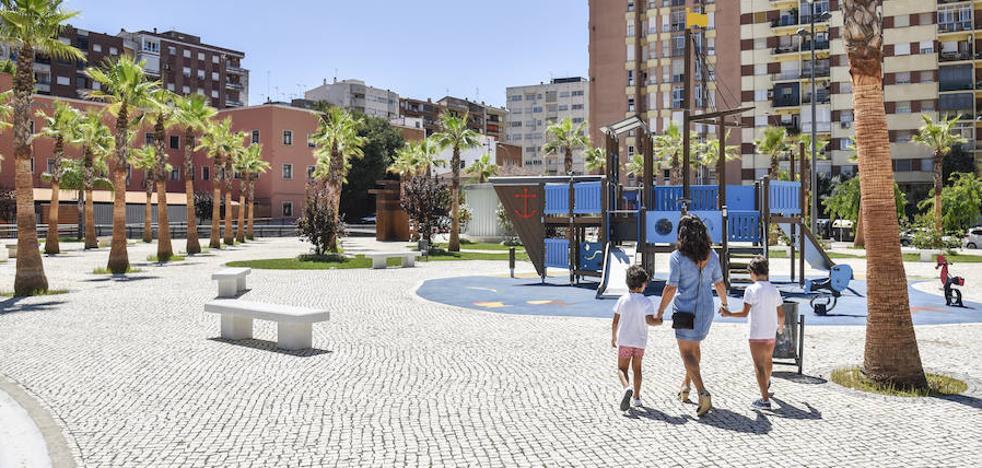 Santa Marina pide más sombra para la nueva plaza de Conquistadores