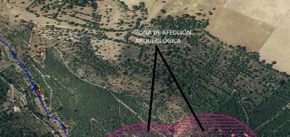 Valdeflores tiene afecciones arqueológicas en unas 25 hectáreas