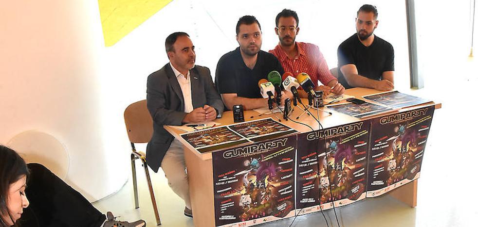 La Gumiparty irá al Palacio de Congresos de Plasencia y tendrá 10.000 euros en premios