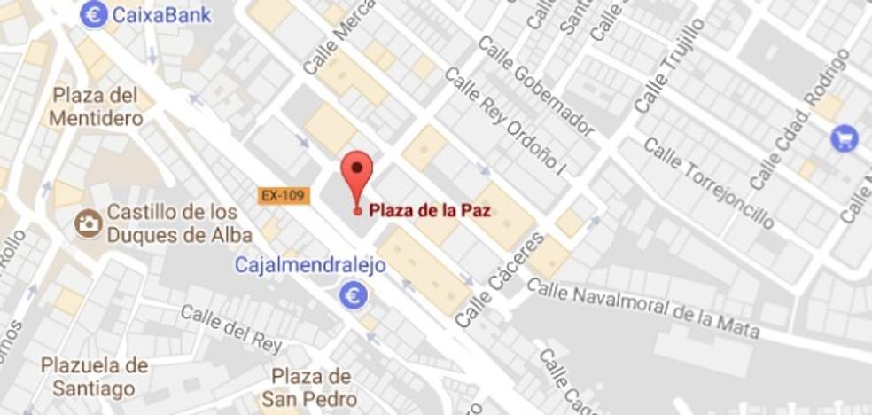 Heridas tres personas, entre ellas un menor, en una colisión en Coria