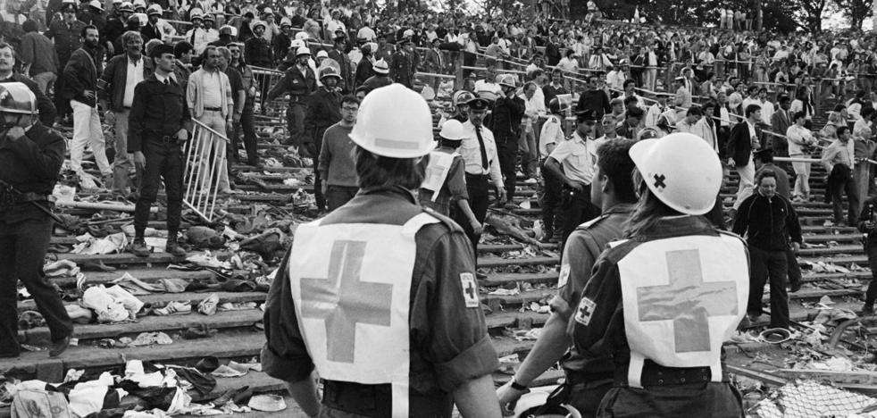 «La violencia de los ultras sigue siendo igual que en Heysel»