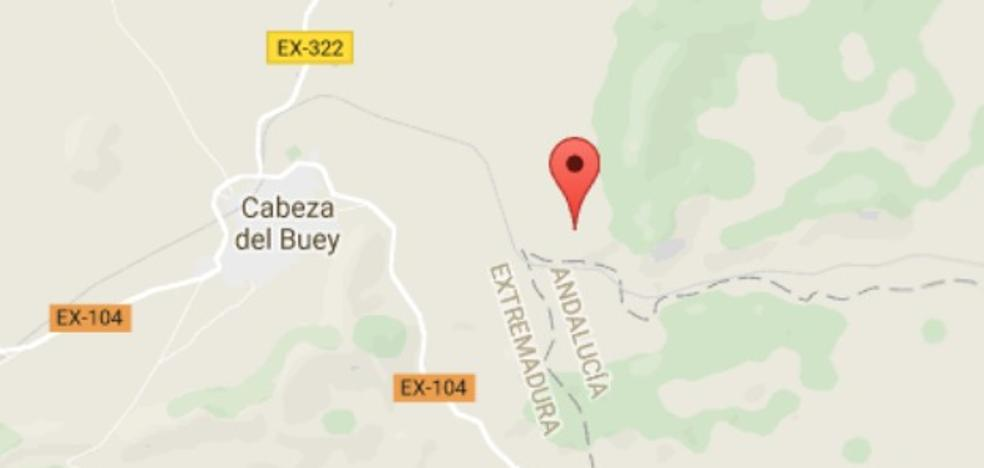 Heridos tres jóvenes, uno de ellos grave, en un accidente de tráfico en Cabeza del Buey
