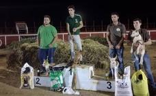 Óscar Gastón y 'Chica' ganan la Copa Nocturna de trabajo para podenco