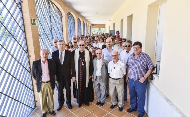 El arzobispo inaugura la obra de San Juan de Dios