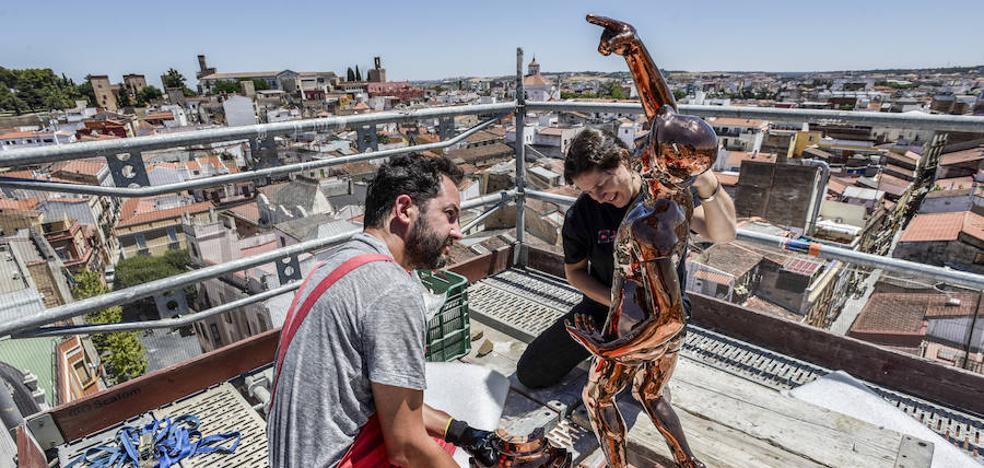 La estatua del Giraldillo estará en el Museo de la Ciudad de Badajoz