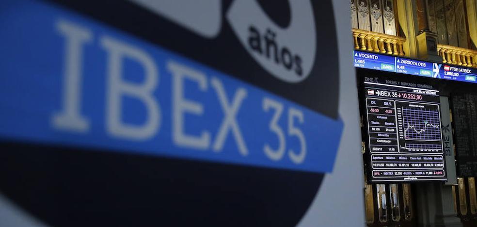 La banca eleva al Ibex-35 por encima de los 10.500 puntos