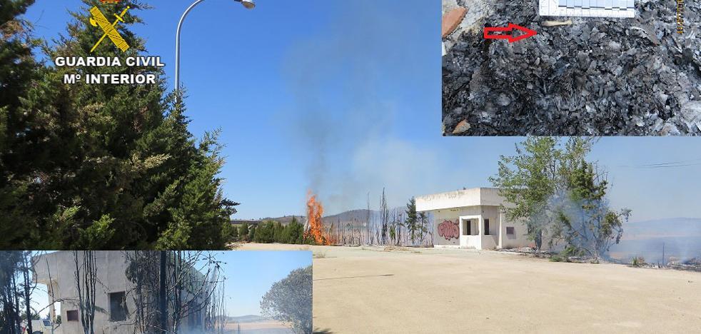 Diez detenidos e investigados en junio y julio en la provincia de Cáceres por incendios forestales