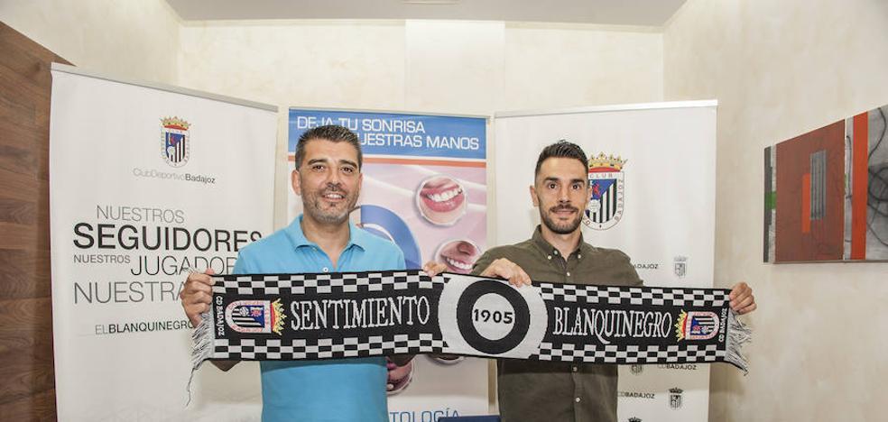 Casaseca: «Mayor ilusión que en el Badajoz no he tenido en otro sitio»