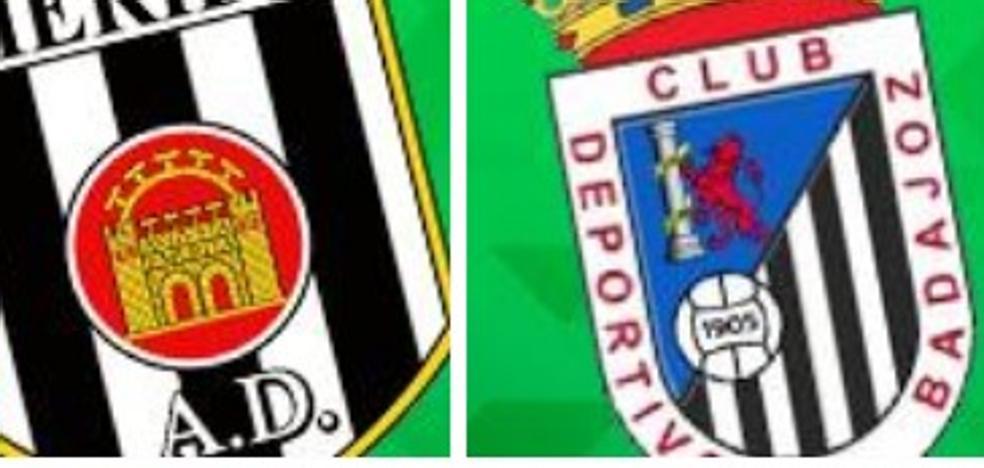 Badajoz, Villanovense, Extremadura y Mérida, en el grupo IV de Segunda B