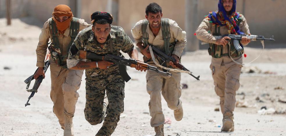 Los yihadistas, en el punto de mira del francotirador español de Al Raqa