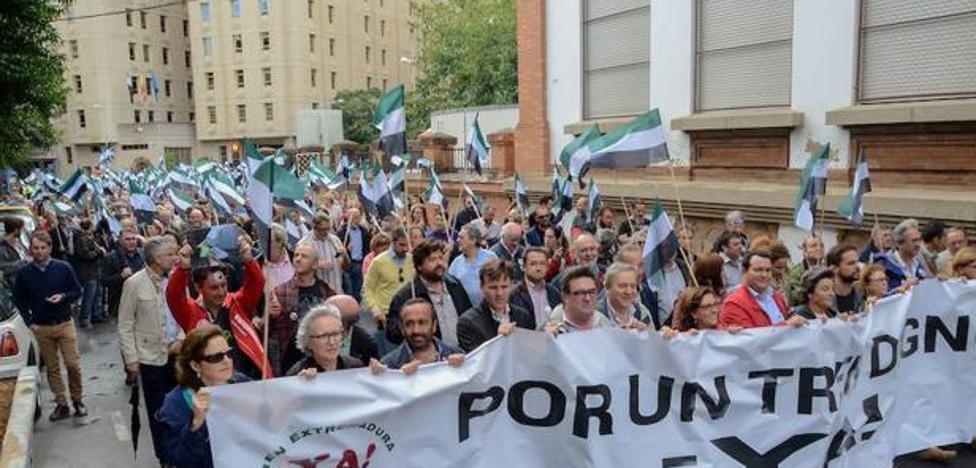 Extremadura prepara una gran manifestación en Madrid por un tren digno y seguro